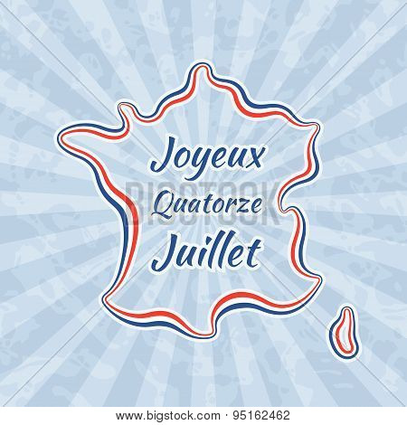 Happy Bastille Day And 14Th July