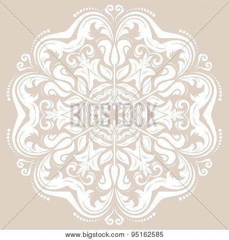 Damask  Orient Pattern