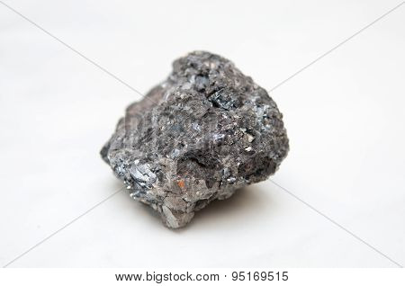 Galena Mineral With Silver