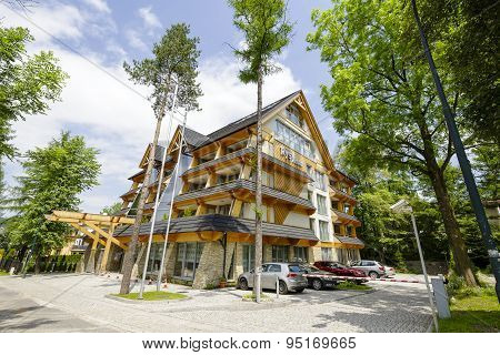 Five-star Luxury Hotel Named Rysy In Zakopane
