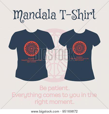 Vector Mandala T-Shirt