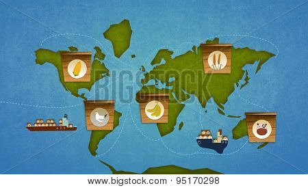 Food Importation On Earth.