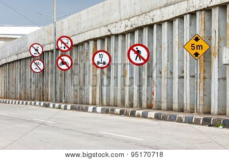 Highways Traffic Signs