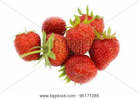 Handful Of Strawberries