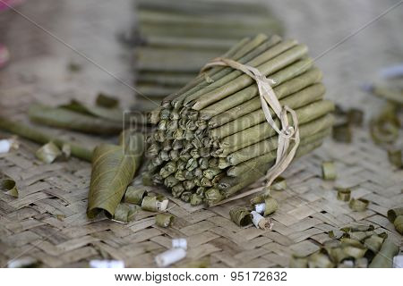 Asia Myanmar Nyaungshwe Tabacco Factory