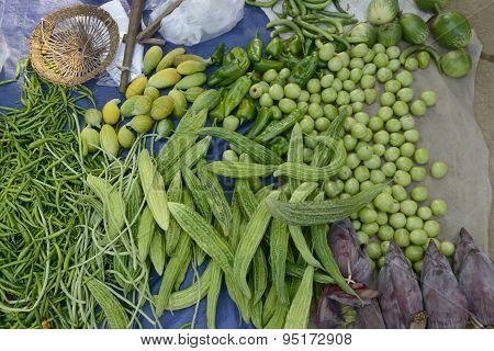 Asia Myanmar Nyaungshwe Inle Lake Market