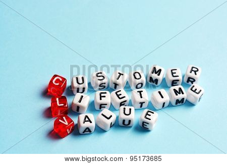 Clv Customer Lifetime Value Blue