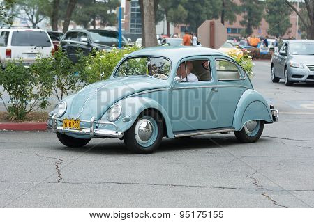 Volkswagen Beetle Car On Display