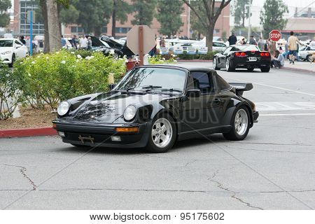 Porsche 911 Car On Display