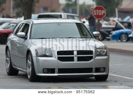 Dodge Magnum Wagon Car On Display