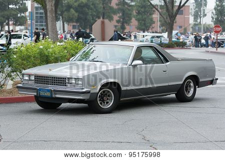 Chevrolet El Camino Car On Display