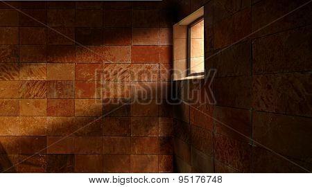 wall stone window