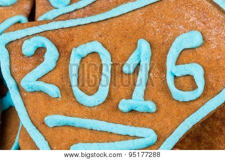 2015 Number On Cookie