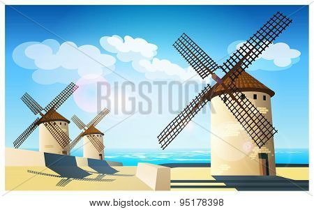Windmills On The Banks