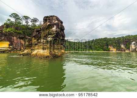 Landscape Of Bako National Park, Malaysian Borneo