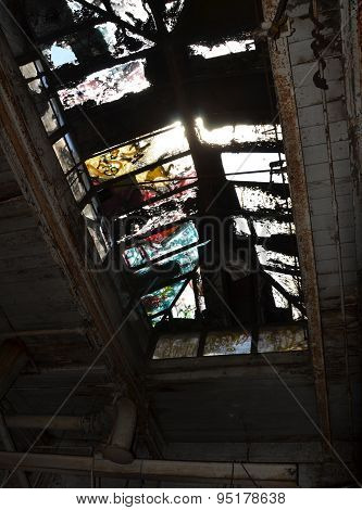 Skylight of Abandoned Factory