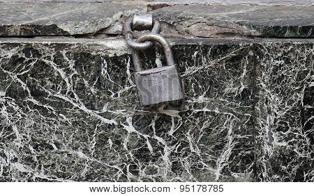 Marble Padlock