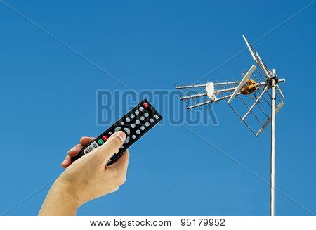 Activating A Digital Antenna Tv