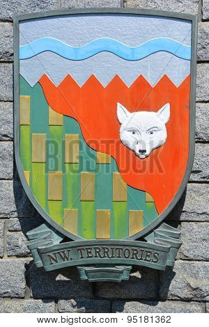 Coat of arms of the Northwest Territories i