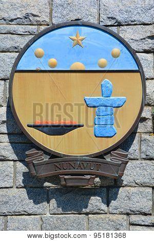 Coat of arms of Nunavut