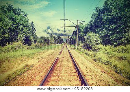 Single Electric Railway Line.