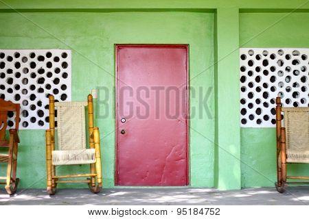 Red Door in Haiti
