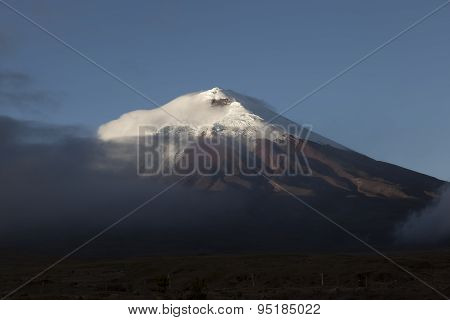 Cotopaxi Volcano.