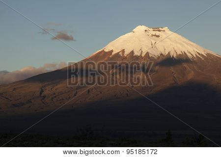 Cotopaxi At Sunset