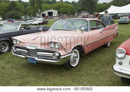 1959 Pink Dodge Coronet Car