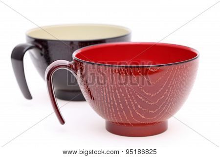 Japanese wooden cup