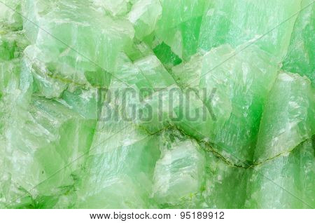 Surface Of Jade Stone Background.