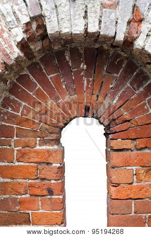 Horseshoe Red Brick Arch