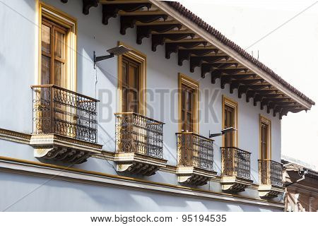 Quito Balconies, Old Downtown