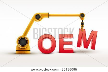 Industrial Robotic Arm Building Oem Word