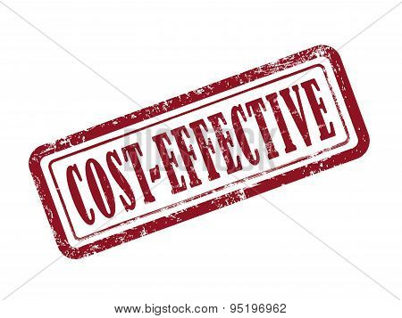 Stamp Cost-effective In Red
