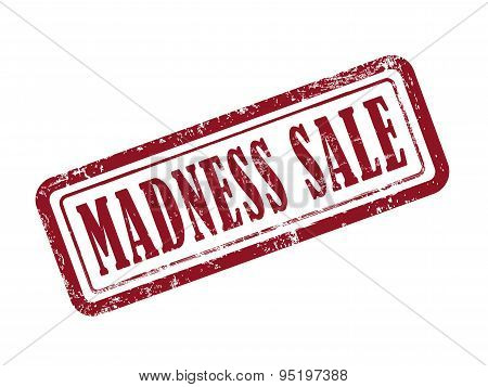 Stamp Madness Sale In Red