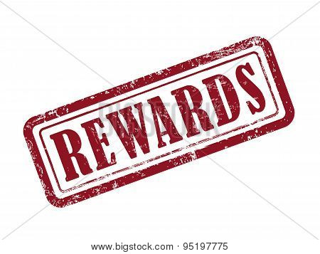 Stamp Rewards In Red
