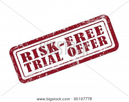 Stamp Risk-free Trial Offer In Red