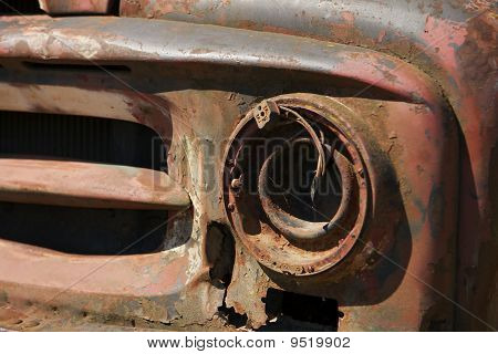 Industrial Junk On Scrap Heap