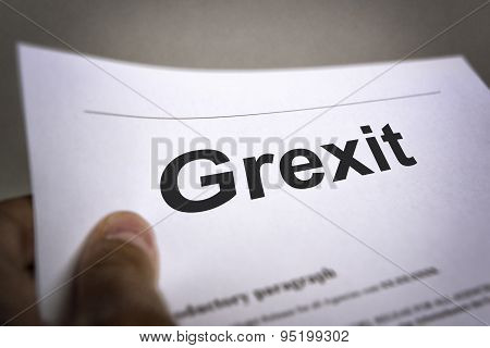Treaty With Title Grexit