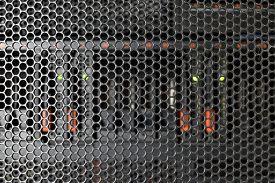 foto of raid  - Computer Server and raid storage in datacenter - JPG