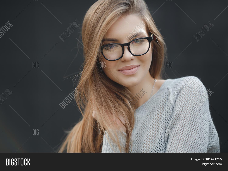 Young Beautiful Woman Model Looks Image Amp Photo Bigstock