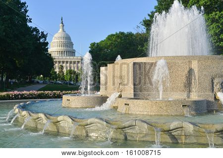 United States Capitol - Washington DC USA