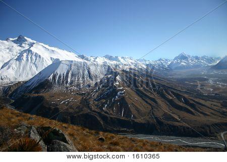 Mount Cook Valley - New Zealand