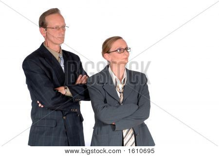 Middle Aged Businesspeople