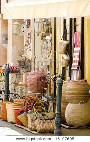 shop in Aix-en-Provence, Provence, France