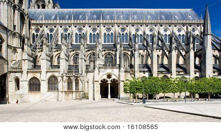 Cathedral Saint-Etienne, Bourges, Centre, France