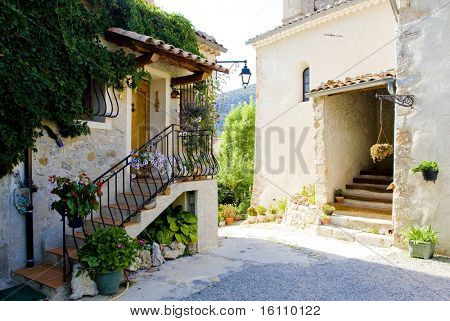 Rougon, Provence, France
