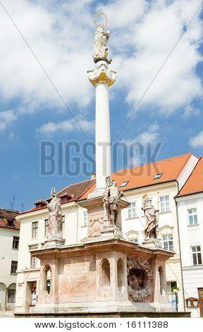 Masaryk Square, Znojmo, Czech Republic
