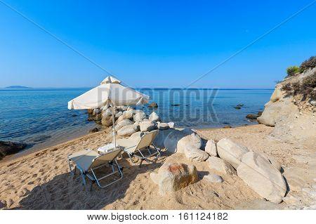 Summer Morning Beach.